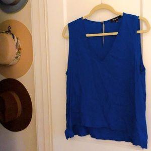 Madewell v neck flowy shirt blouse